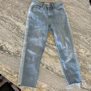Pacsun two tone jeans